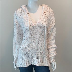 NWT POL Oversized Pullover Hi Lo Hoodie Sweater
